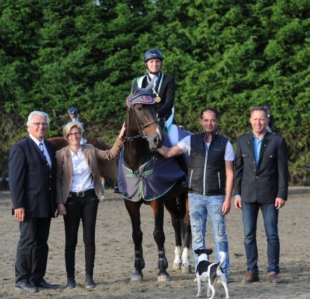 Landesmeisterin ländliche Reiter 2015 - Katrin Raunegger